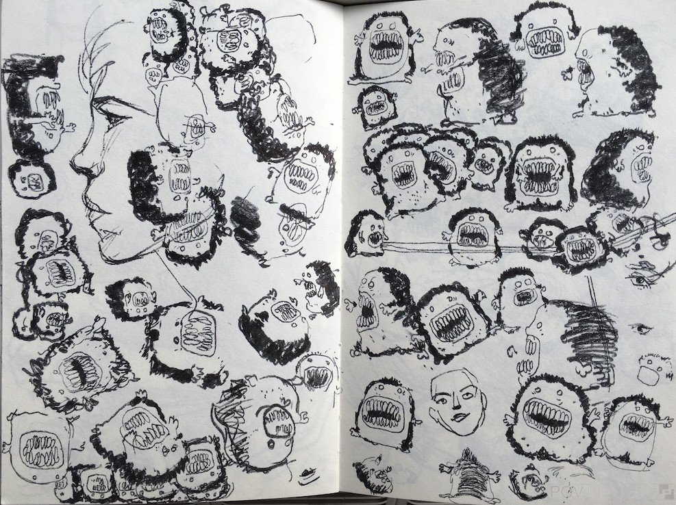 Darkness Doodles